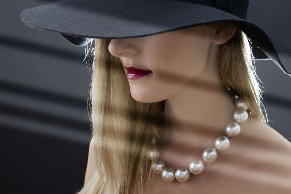 Pearl jewelry at Quenan's Fine Jewelers