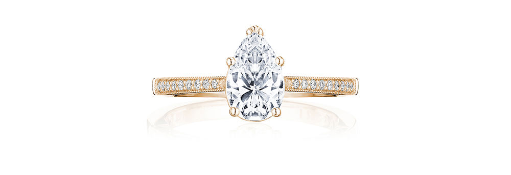 Tacori Pear Cut Engagement Ring