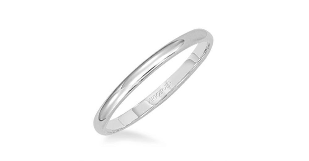Artcarved Wire-Thin Wedding Band